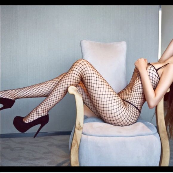Black sexy lace body stocking New. Xs/s/m/l. Available in black and purple Intimates & Sleepwear Shapewear
