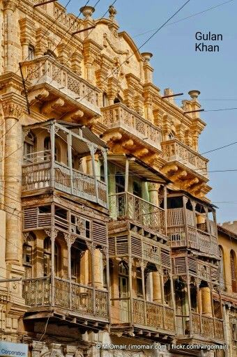 Wow Super beauty of old houses in Karachi Sindh Pakistan