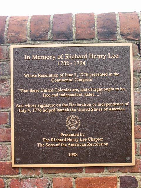 Richard Henry Lee (1732 - 1794) - Find A Grave Photos