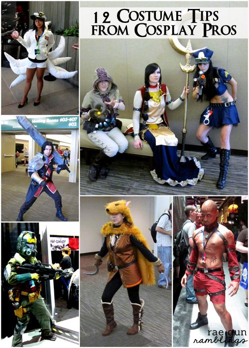 Costume Tips from Cosplay Pros - Rae Gun Ramblings #diy #comiccon #halloween