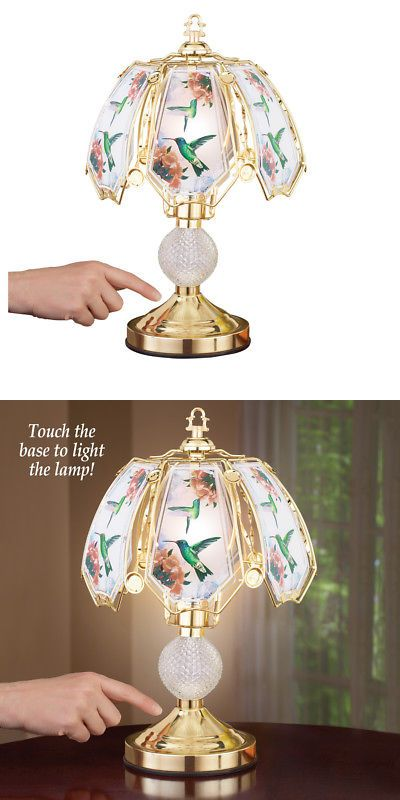 Lamps 112581 Hummingbird Touch Lamp With Gold Tone Base By Collections Etc It Now Only 24 99 On Ebay