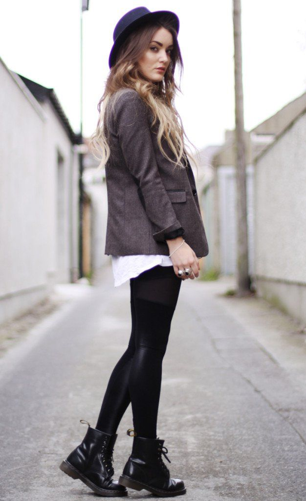 8 cool ways to rock dr martens boots  casual kleding