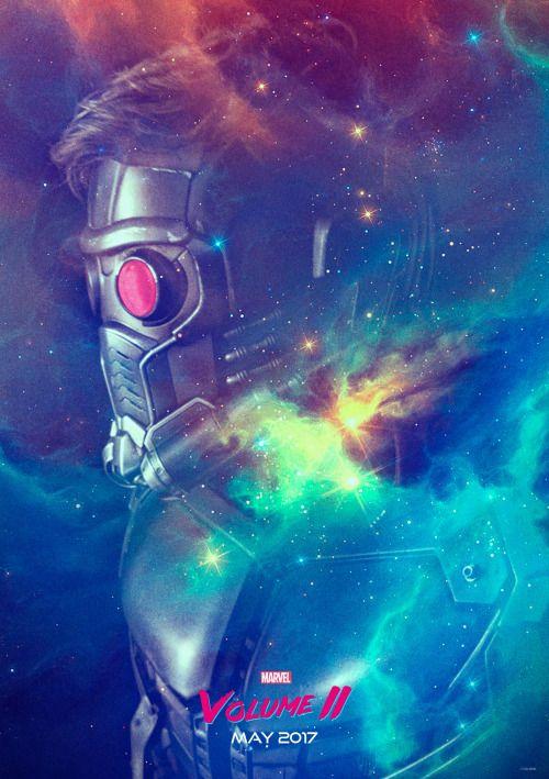 'Guardians of the Galaxy Vol.2' Star-Lord Poster Alejandro Hinojosa