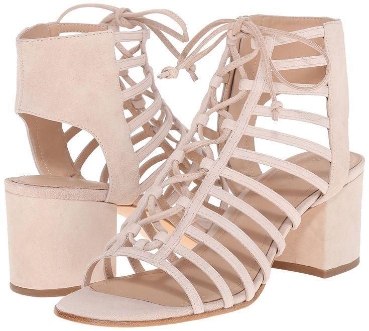 Cole Haan Womens Luci Slide BlockHeel Sandal White Size 80 a0a1