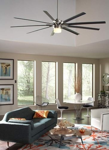 Odyn Outdoor Ceiling Fan With Light
