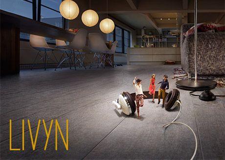 Livyn Découvrez Quick-Step Livyn... Une toute nouvelle gamme de sols qui associe l'aspect naturel du bois et tous les avantages pratiques d'un sol synthétique. Les sols Livyn dégagent une ambiance chaleureuse. Ils invitent à marcher pieds nus. De plus, leurs excellentes propriétés d'isolation phonique garantissent un plaisir tranquille.  15 MOTIFS DISPONIBLES  Livyn est une gamme de 15 sols haut de gamme confortables. Avec des motifs qui traduisent un équilibre de couleurs parfaitement…