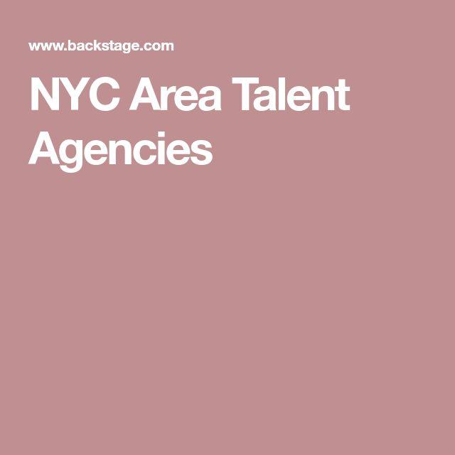 NYC Area Talent Agencies