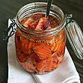 Saumon mariné à la coriandre et mandarine