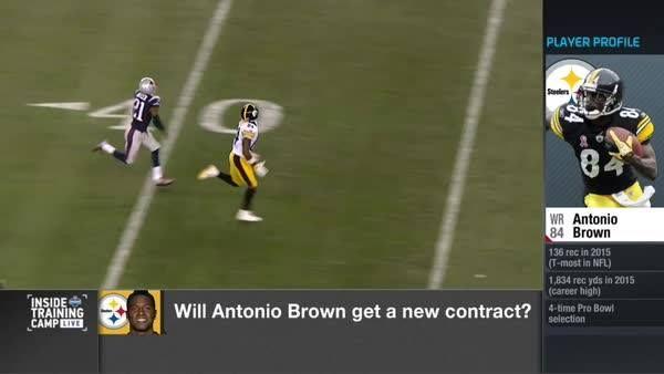 New contract on the horizon for The Pittsburgh Steelers WR Antonio Brown? (via Ian Rapoport)