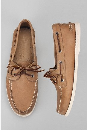 Sperry Top-Sider. I wore these in middle school; navy blue and the white!