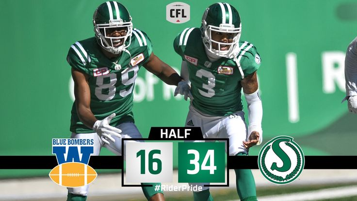 "Sask. Roughriders on Twitter: ""We've reached halftime from the 53rd Labour Day Classic.  #RiderPride #LDWeekend https://t.co/OtIEHpnlQH"""