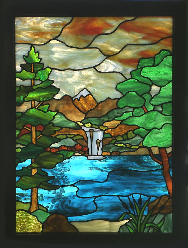 43 Best Images About Landscape Stained Glass On Pinterest