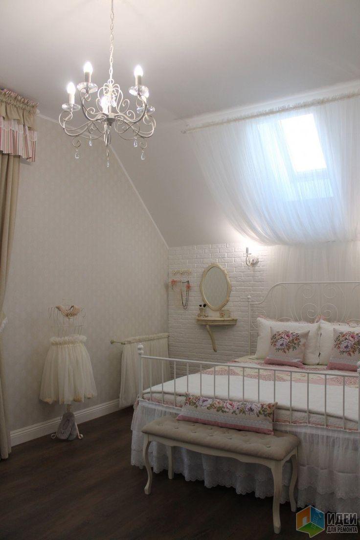 Спальня для взрослой дочери + уголок под лестницей
