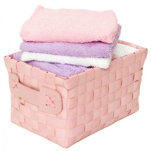 #carillopin http://www.carillobiancheria.it/set-12-lavette-100-spugna-di-cotone-30x30-cm-colore-rosa-l572.html