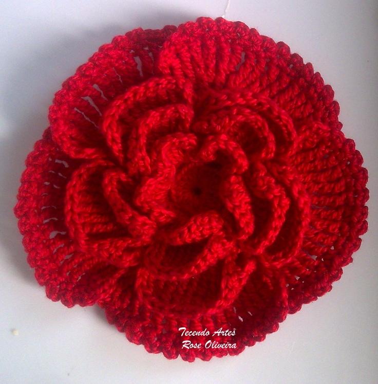 Crochet rose More