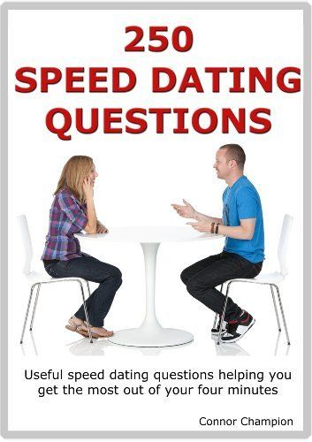 Odd speed dating questions