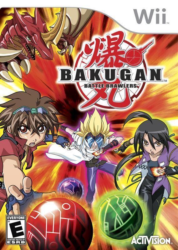 Bakugan Battle Brawlers Wii Bakugan Battle Brawlers Wii Games Activision