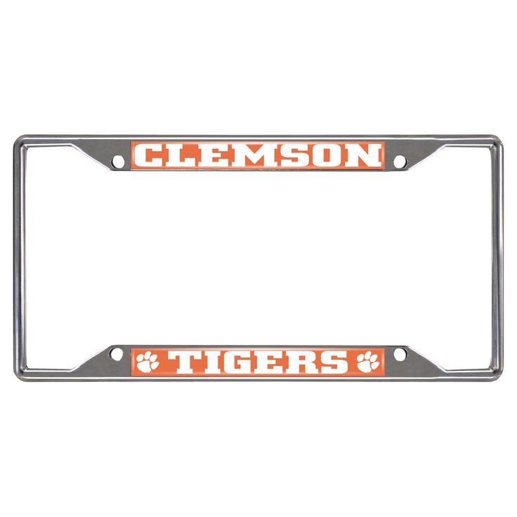 NCAA License Plate Frame Clemson University