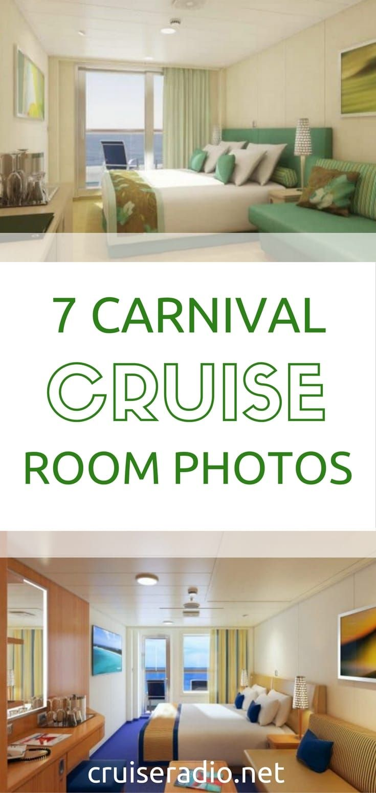 When it comes time to book a cruise, what type of stateroom you want to book is sometimes one of the deciding factors in finalizing the booking. Here are the major stateroom categories offered on Carnival Cruise Line: via #CruiseRadio