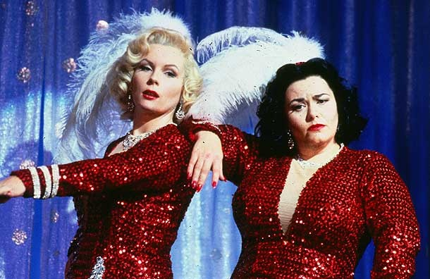 Dawn French and Jennifer Saunders - these two are awesome comediennes and I loved every episode of their show. Their spoofs on movies are awesome!
