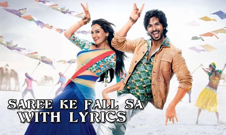 """Saree Ke Fall Sa"" from the movie R...Rajkumar, I want to see this movie"