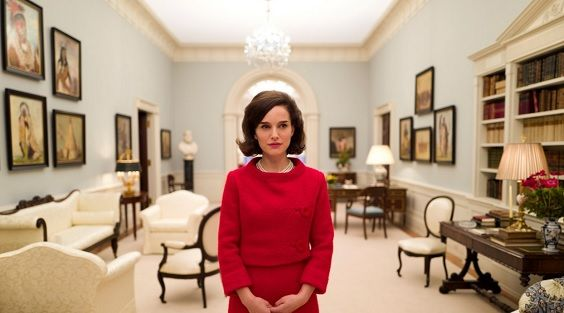 JACKIE Film Review Natalie Portman stars as Jackie Onassis wife of President JF Kennedy in this biopic by Pablo Larrain John Hurt and Peter Sarsgaard costar