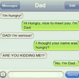 funny parents texts - 15 Ridiculous Dad Texts Just In Time For Father's Day