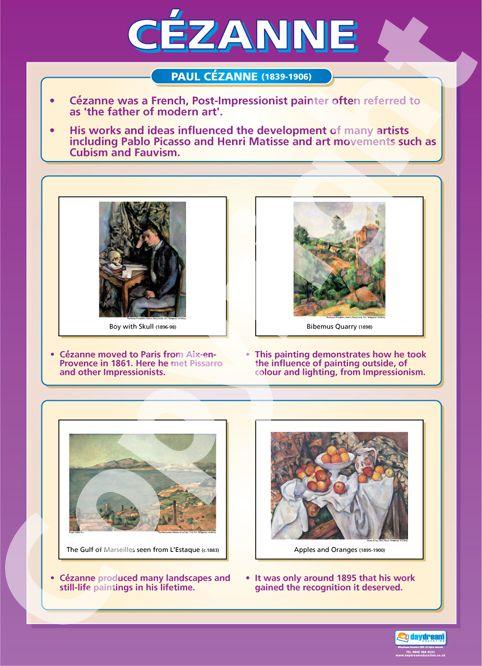 Cezanne poster