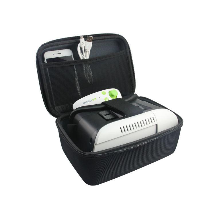 Professional VR Virtual Headset Gamepad Controller Kit Hard Case Storage Bag #Affiliate