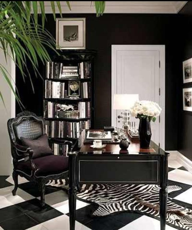 Try a luxe chair to glam up your work space!