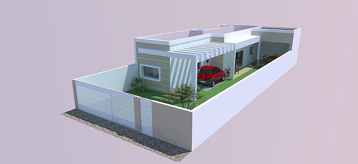 Uma casa lateral, é assim que definimos este projeto simples e charmoso, onde a ideia principal era ter o máximo possível de jardim, para que a vista lateral da casa fosse um grande gramado.   #engenhariacivil #arquitetura #designerdeinteriores #primoreengenharia #primoredesign #byprimore #housedesign #interiordesign #baixaarquitetura #baixaengenharia #engenharialondrina #arquiteturalondrina #designlondrina #londrina #ldn #parana #pr