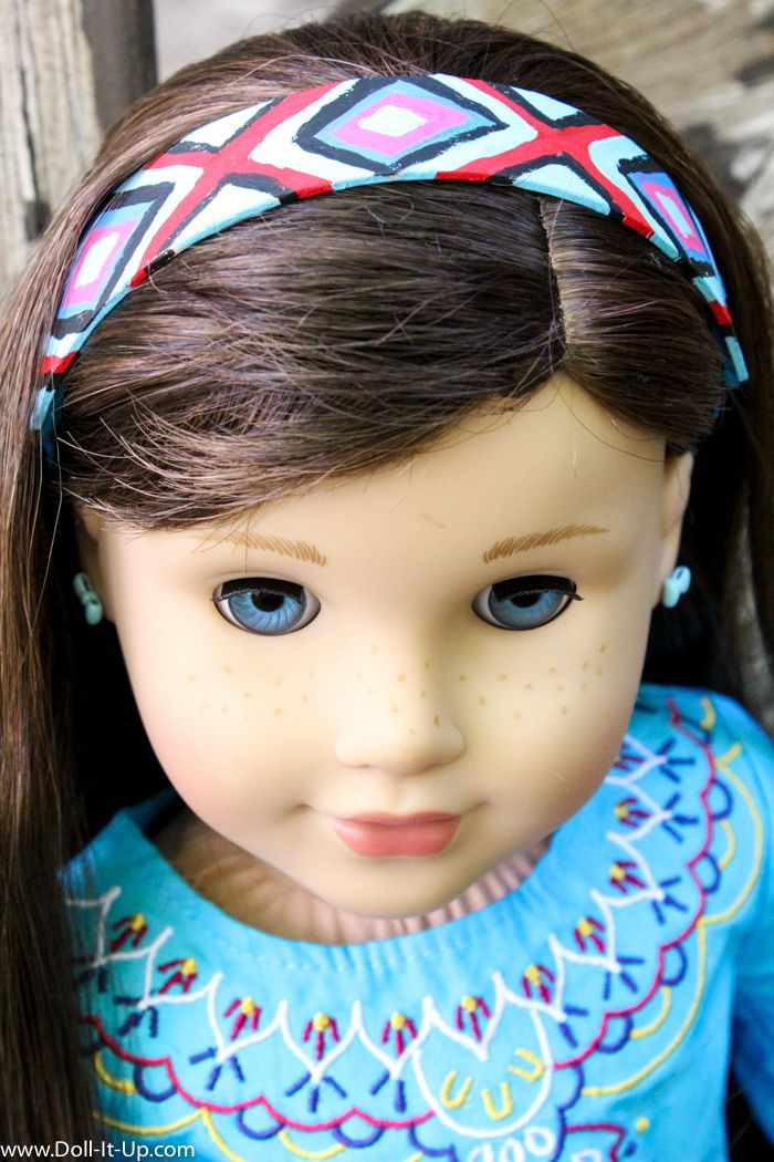 Wooden Headband - Doll It Up