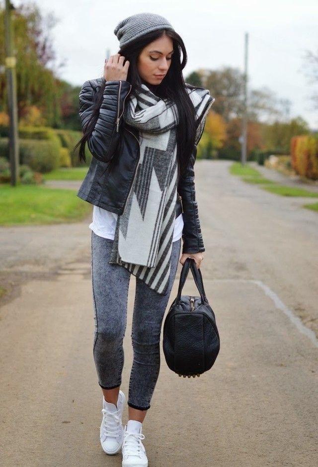 Select Fashion  Chaquetas, Joni  Jeans and Converse  Deportivas