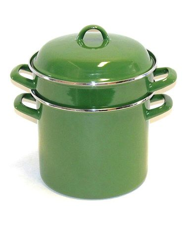 Look what I found on #zulily! Green 8-Qt. Pasta Cooker Set by Prime Pacific #zulilyfinds