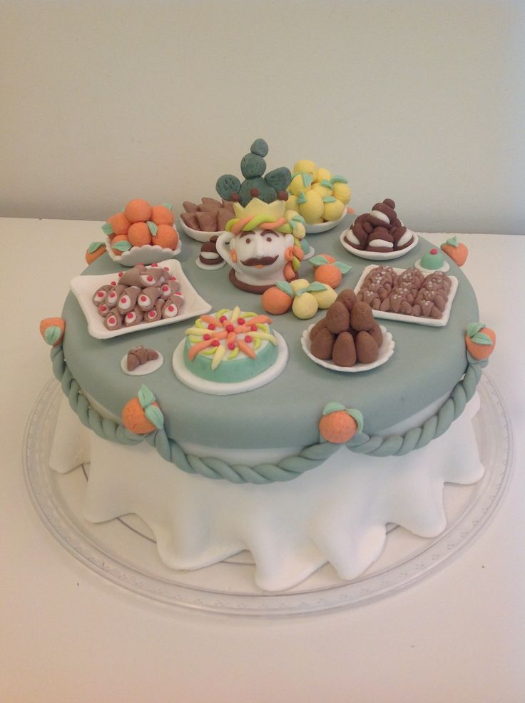 Little bit of Sicily on my cake!