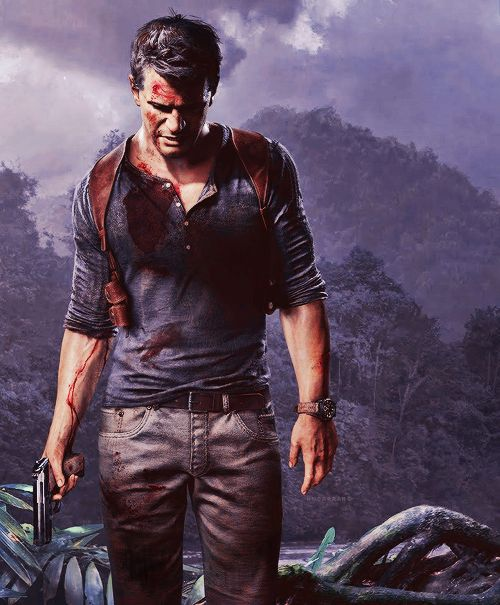 Really impressed so far with promo images for Nathan Drake's updated design for the new consoles. Uncharted 4!