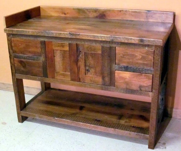 Best 25+ Reclaimed wood bathroom vanity ideas on Pinterest ...