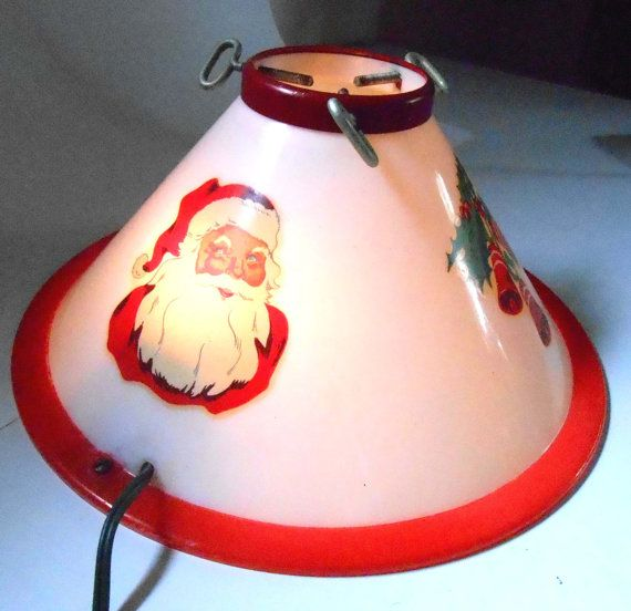 Mid Century Christmas Tree Stand Light Up Plastic by anyoldtime, $32.99