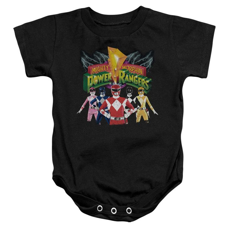 POWER RANGERS RANGERS UNITE Baby Snapsuits
