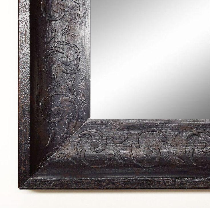 Cute Spiegel Wandspiegel Badspiegel Flurspiegel Antik Barock Mantilla Schwarz