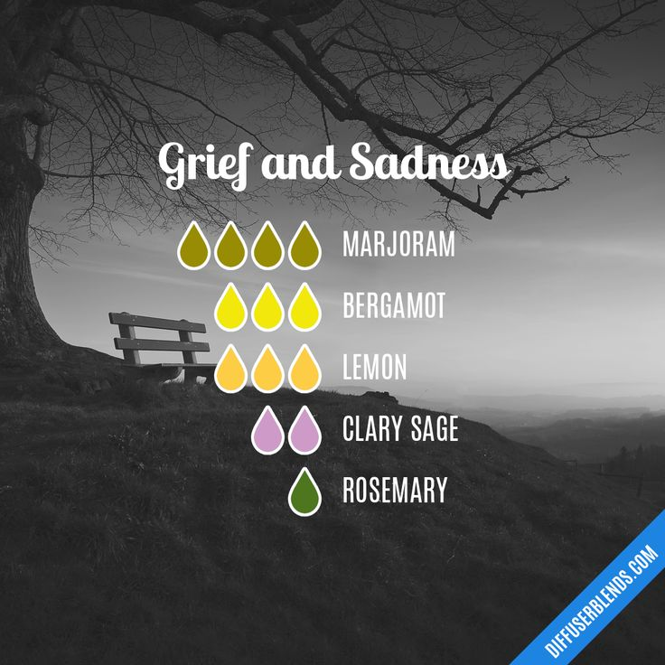 Grief and Sadness — Essential Oil Diffuser Blend