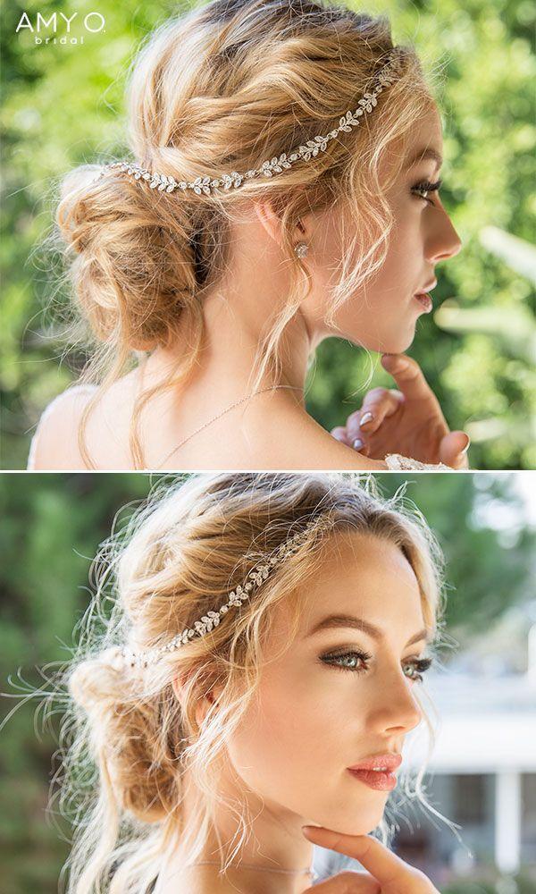 Boho Hair Vine Halo Headpiece Prom Hairstyles For Short Hair Wedding Hairstyles Wedding Hair Headband