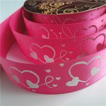 Satin ribbon with logo