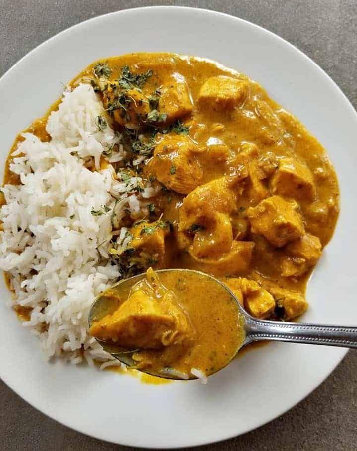 Chicken Korma With Coconut Milk Recipe Chicken Korma Korma Recipe Korma