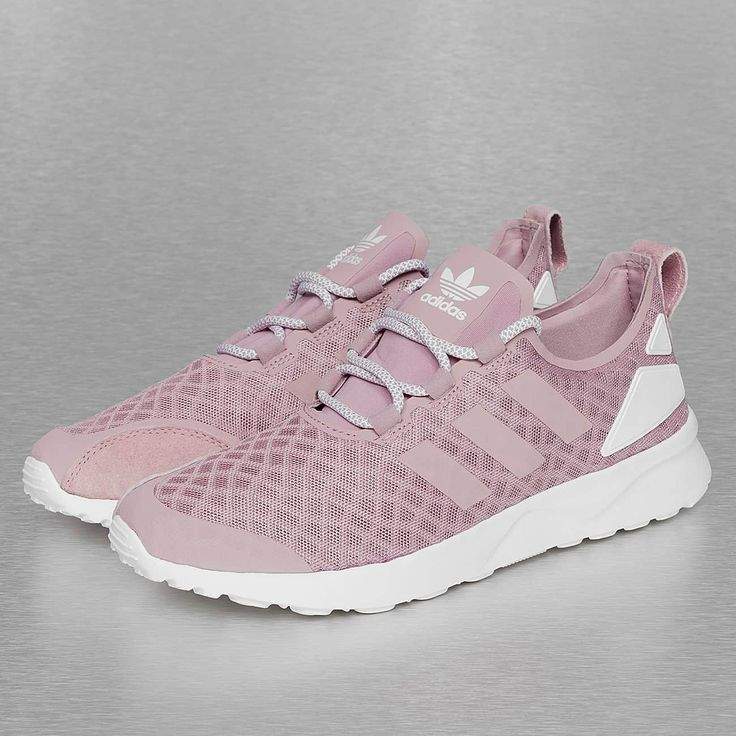 Adidas Zx Flux White And Pink