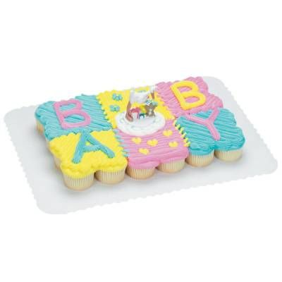 baby shower cupcakes shower cakes pull apart cupcake cake publix