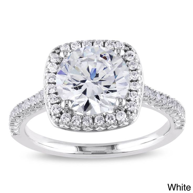 17 Best ideas about Cubic Zirconia Engagement Rings on Pinterest