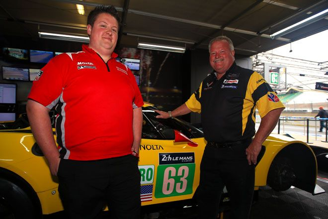LM24: Father Dan Binks and son Phil turned rivals at Le Mans. Corvette Racing & Nissan NISMO. RACER.com