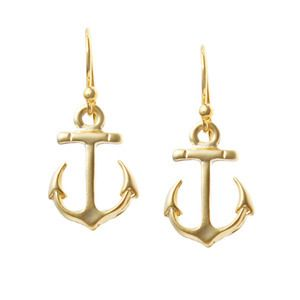 #Nautical Anchor Earrings #jewelry #anchors