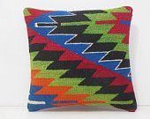 retro cushion cover couch throw pillow geometric throw pillow ethnic pillow cover designer rug pillow contemporary pillow 14565 kilim pillow